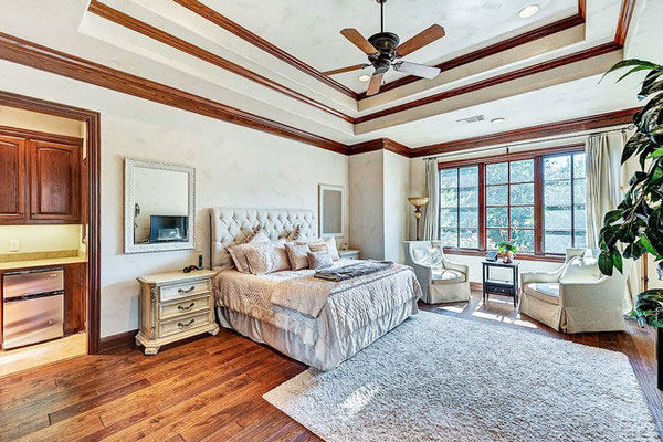 اتاق خواب منزل سلنا گومز