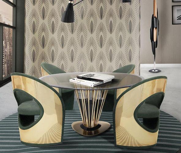 میز کار پکیجی در دکوراسیون سلطنتی