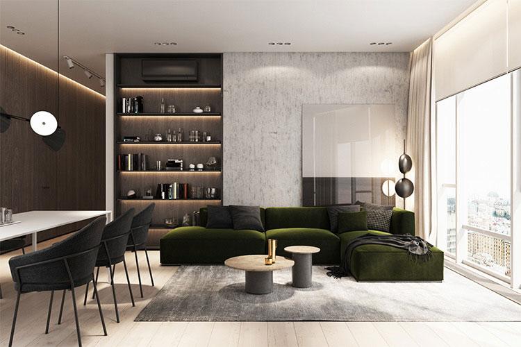 طراحی مدرن با مبلمان مدرن