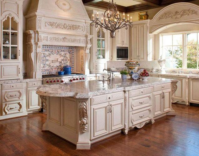 آشپزخانه سلطنتی با طراحی مدرن